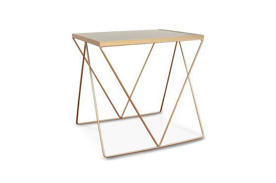 Tavolino  dorato Bumcello Foto ritagliata