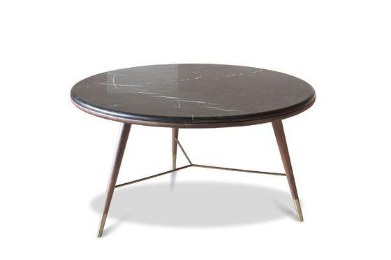 Tavolino in marmo nero Sivärt Foto ritagliata