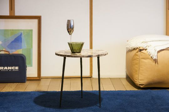 Tavolino in marmo Vilma