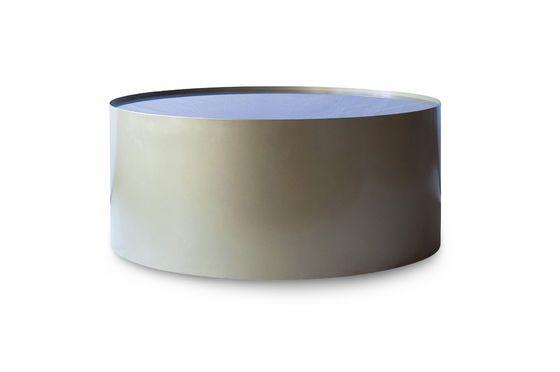 Tavolino in ottone e marmo Dickinson Foto ritagliata