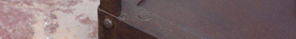 Materiali prima di tutto Tavolino Industrial