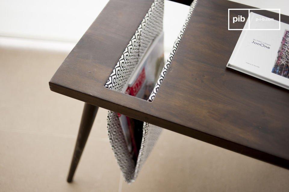 Il tavolino vintage Londress è molto pratico perchè ti dà la possibilità di conservare i tuoi