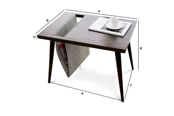 Dimensioni del prodotto Tavolino Londress