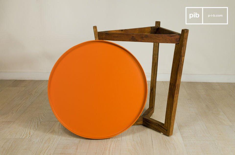 Tavolino Stockholm con ripiano removibile
