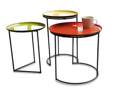 Tavolino tricolore Kirk ad incastro Foto ritagliata