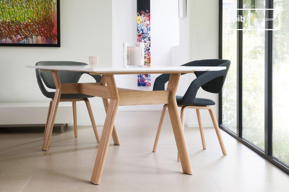 Tavolo augst stile scandinavo per la sala da pranzo pib - Tavolo scandinavo ...