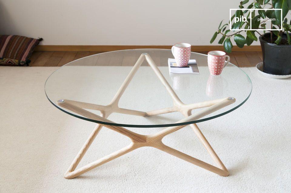 Tavolino in vetro Estrela