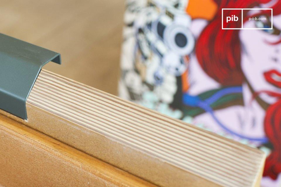 Un tavolo che integrerà facilmente in tutti gli interni dallo spirito scandinavo