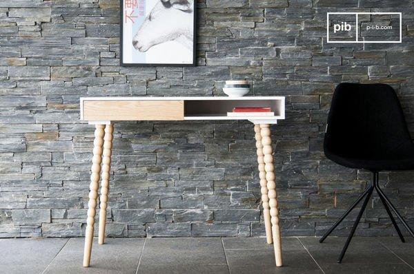 tavolo con cassetto katalina