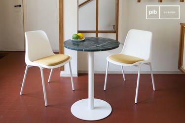 Tavolo da bistrò in marmo verde Lasby