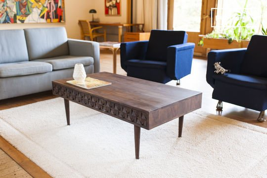 Tavolo da caffè in legno Balkis