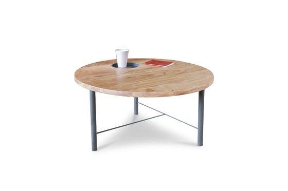 Tavolo da caffè in legno Bascole Foto ritagliata