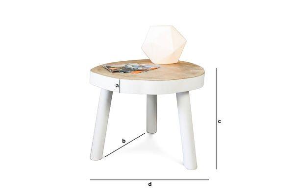 Dimensioni del prodotto Tavolo da caffè Nederland