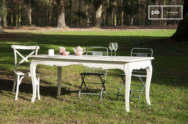 Tavoli Da Pranzo Importanti.Tavolo Da Pranzo Amadeo Romantico E Vintage Pib
