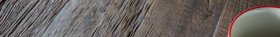 Materiali prima di tutto Tavolo da pranzo in legno naturale Sherman