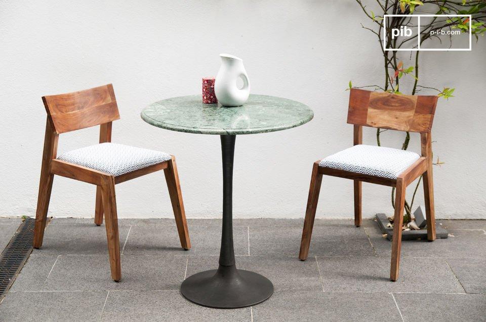 Tavolo da pranzo in marmo tavolo scandinavo ideale per pib - Altezza tavolo da pranzo ...