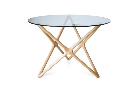 Tavolo da pranzo in vetro Estrella Foto ritagliata