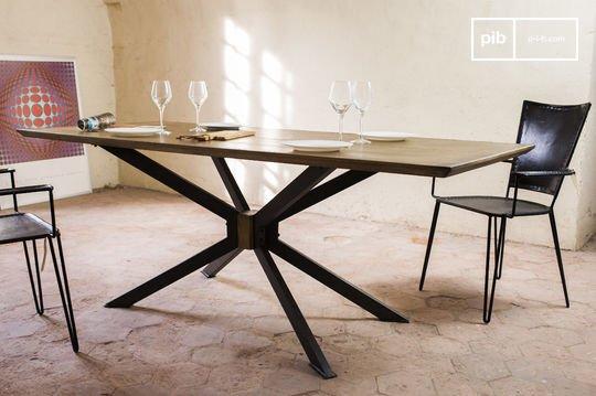 Tavoli Da Pranzo Design : Tavolo da pranzo con sedie rosse scuro in soppalco camera di