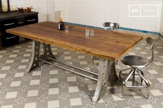 Tavolo Da Pranzo Industriale : Tavolo industriale pib