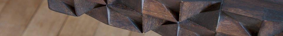 Materiali prima di tutto Tavolo da ufficio in legno Balkis