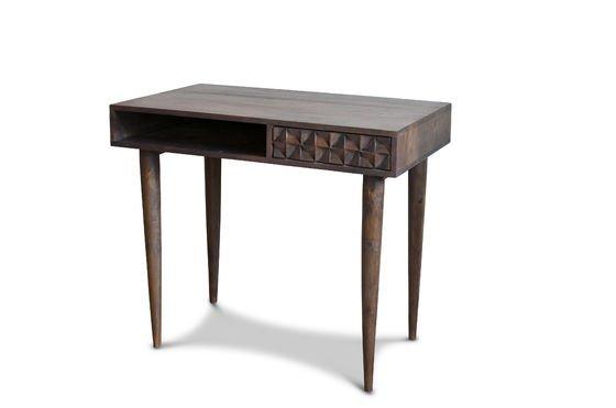 tavolo da ufficio in legno balkis effetto grafico pib