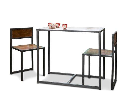 Tavolo e set di sedie Finn Foto ritagliata