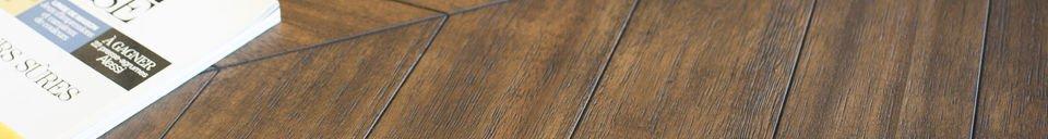 Materiali prima di tutto Tavolo in legno Alienor