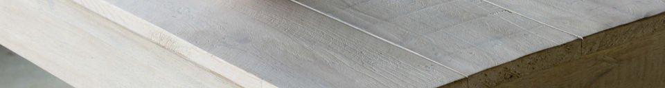 Materiali prima di tutto Tavolo in legno Epicuro