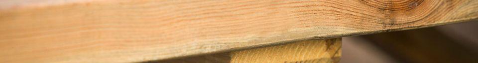 Materiali prima di tutto Tavolo in legno Felix
