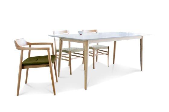 Tavolo in legno Fjord Foto ritagliata