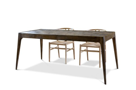 Tavolo in legno Tabüto Foto ritagliata
