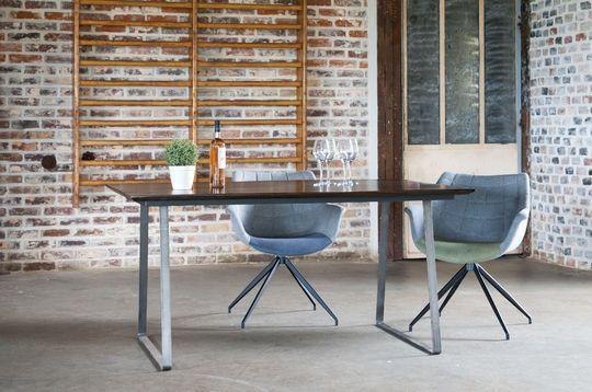 Tavolo in legno verniciato Espazio