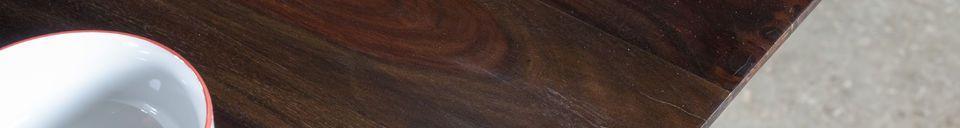 Materiali prima di tutto Tavolo in legno verniciato Espazio