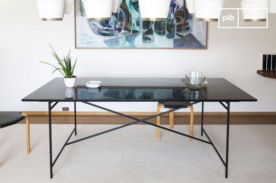 Tavolo in marmo nero Thorning