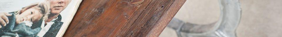 Materiali prima di tutto Tavolo in teak antico Tonnel