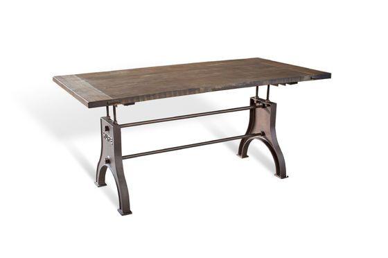 Tavolo industriale regolabile Foto ritagliata