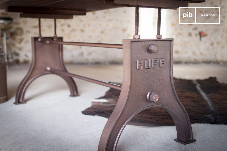 Linea industriale vintage e materiali di qualità