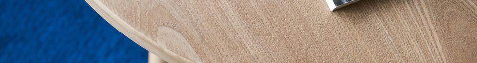 Materiali prima di tutto Tavolo occasionale in legno Estrella