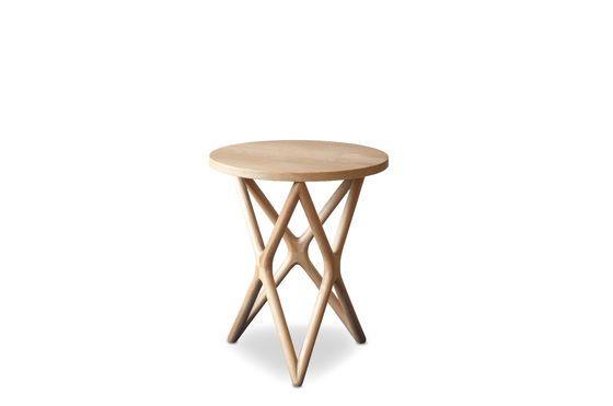 Tavolo occasionale in legno Estrella Foto ritagliata