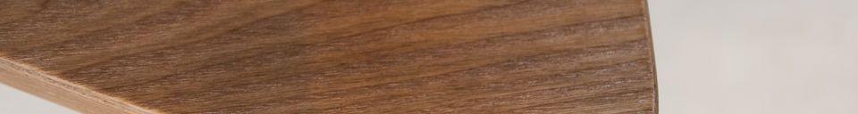 Materiali prima di tutto Tavolo occasionale in legno Fleetwood