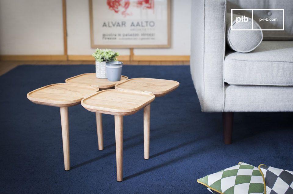 Tavolo occasionale in legno Kädri