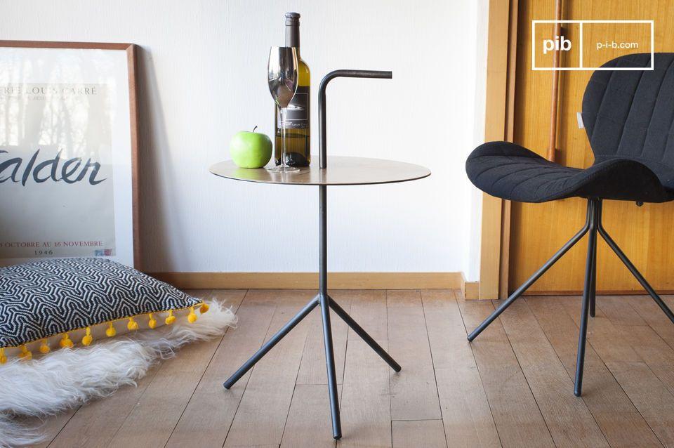 Tavolo trasportabile Xylème con maniglia