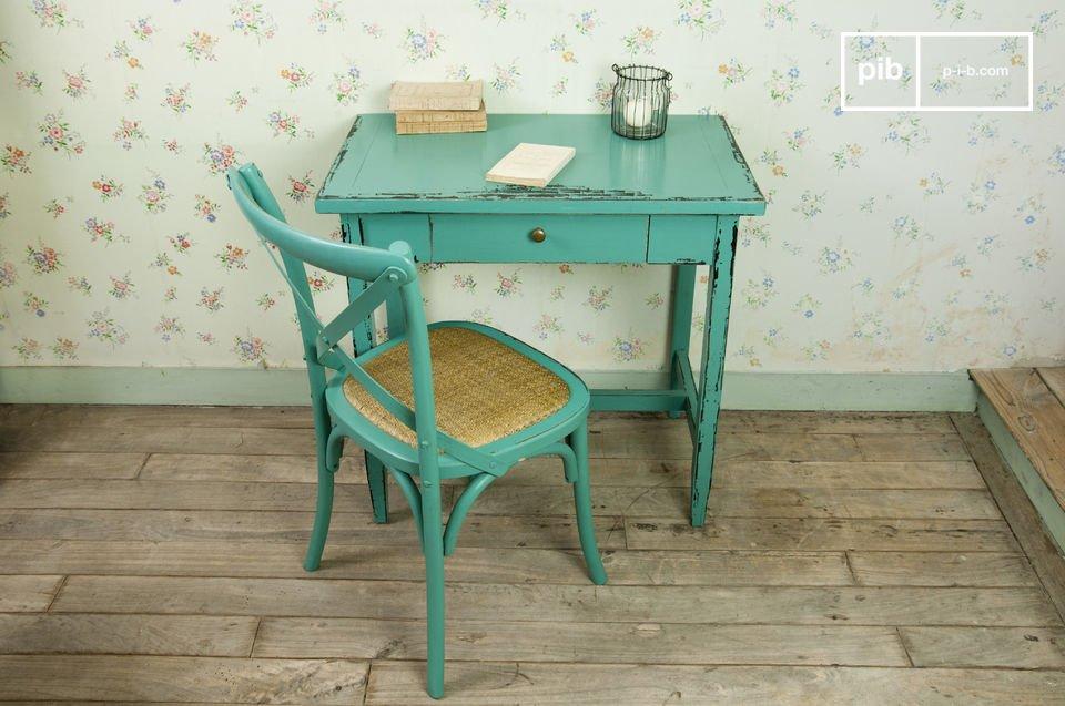 Scrittoio o tavolo occasionale in stile invecchiato