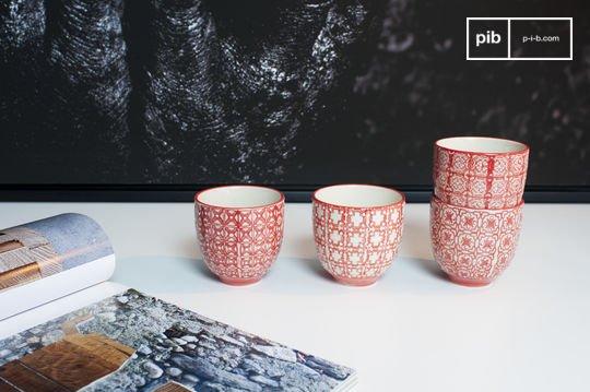 Tazzine da caffè Kennedy - 4 pezzi