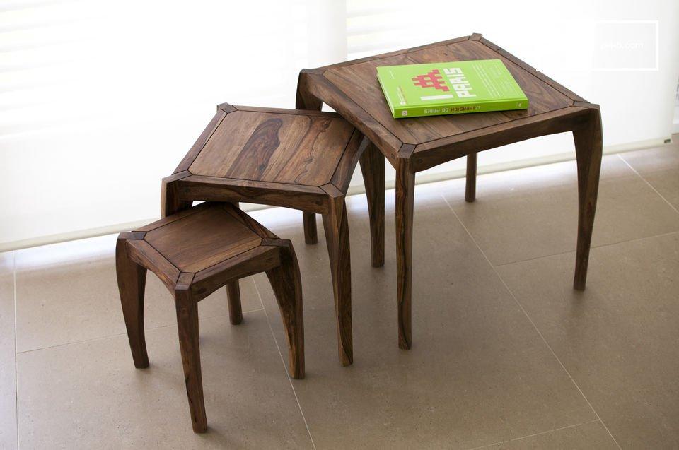 Trio di tavolini Luna