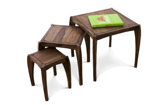 Trio di tavolini Luna Foto ritagliata