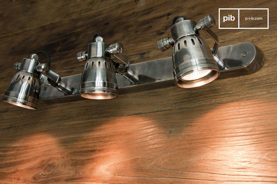 Tripla Lampada da parete Bistrò