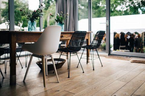 Un soggiorno moderno scandinavo