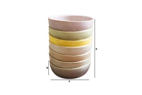 Dimensioni del prodotto Vaso Amalia