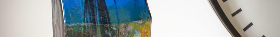 Materiali prima di tutto Vaso di vetro Ingeborg